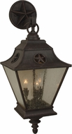 Craftmade Z1414-07 Chaparral Traditional Rust Exterior Large Wall Lighting Fixture