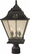 Craftmade Z1415-07 Chaparral Traditional Rust Outdoor Lamp Post Light Fixture