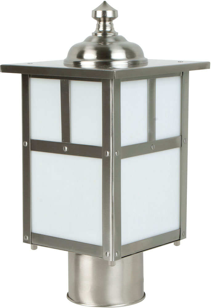 Craftmade z1845 56 mission craftsman stainless steel exterior post craftmade z1845 56 mission craftsman stainless steel exterior post light fixture loading zoom aloadofball Choice Image