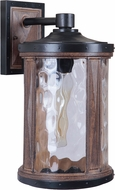 Craftmade Z2724-14 Madera Textured Black / Whiskey Barrel Outdoor Large Lighting Sconce