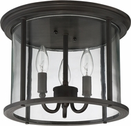 Craftmade Z2837-12 Carlton Aged Bronze Brushed Outdoor Ceiling Lighting