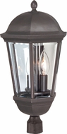 Craftmade Z3025-92 Britannia Oiled Bronze Exterior Lighting Post Light