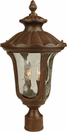 Craftmade Z3525-98 Sheffield Aged Bronze Exterior Post Lighting Fixture