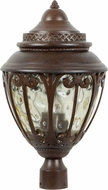 Craftmade Z3825-98 Olivier Old World Aged Bronze Exterior Pole Lighting Fixture