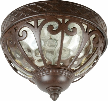 Craftmade Z3837-98 Olivier Old World Aged Bronze Exterior Flush ...