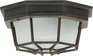 Craftmade Z389-07 Bulkhead Rust Outdoor Large Home Ceiling Lighting / Wall Lighting