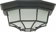 Craftmade Z390-05 Bulkhead Matte Black Exterior Small Overhead Light Fixture / Sconce Lighting