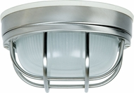 Craftmade Z394-56 Bulkhead Stainless Steel Outdoor Small Ceiling Lighting Fixture / Wall Light Fixture