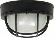 Craftmade Z395-05 Bulkhead Matte Black Outdoor Large Flush Lighting / Wall Lighting Sconce