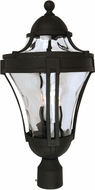 Craftmade Z4225-05 Parish Matte Black Outdoor Post Lamp