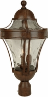Craftmade Z4225-98 Parish Aged Bronze Exterior Lamp Post Light