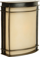 Craftmade Z4302-92 Vale Contemporary Oiled Bronze Outdoor Pocket Wall Light Sconce