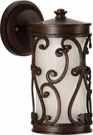 Craftmade Z5304-98-LED Glendale LED Aged Bronze Outdoor Small Wall Sconce Light