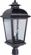Craftmade Z5725-92 Branbury Oiled Bronze Outdoor Post Lamp