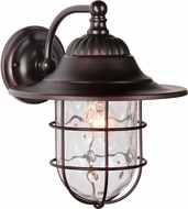 Craftmade Z5824-88 Fairmont Oiled Bronze Gilded Exterior Large Wall Sconce