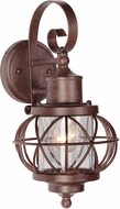 Craftmade Z5904-98 Revere Aged Bronze Exterior Small Wall Lamp