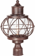 Craftmade Z5925-98 Revere Aged Bronze Outdoor Post Light