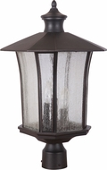 Craftmade Z7725-88 Chateau Oiled Bronze Gilded Exterior Post Lighting