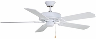 Fanimation Fans BP200MW1-220 Aire Decor Matte White Ceiling Fan