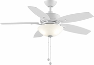 Fanimation Fans FP6245BMW Aire Deluxe Matte White LED 44  Ceiling Fan