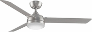 Fanimation Fans FP6728BN Xeno Modern Brushed Nickel LED Interior / Exterior 56  Ceiling Fan
