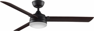 Fanimation Fans FP6728DZ Xeno Contemporary Dark Bronze LED Indoor / Outdoor 56  Home Ceiling Fan