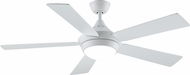Fanimation Fans FP8062MW Celano V2 Matte White LED 52  Ceiling Fan
