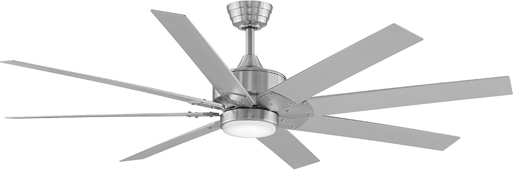 Fanimation Fans Fpd7916bn Levon Brushed Nickel Led Indoor
