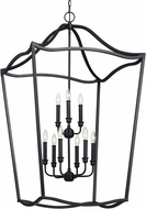 Feiss F2977-9AF Yarmouth Antique Forged Iron Foyer Lighting