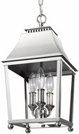 Feiss F3088-3PN Galloway Polished Nickel Foyer Lighting Fixture