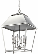 Feiss F3090-6PN Galloway Polished Nickel Foyer Lighting Fixture