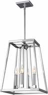 Feiss F3149-4CH Conant Chrome Foyer Light Fixture
