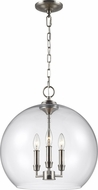 Feiss F3155-3SN Lawler Satin Nickel Entryway Light Fixture