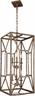 Feiss F3174-6DSGL Marquelle Contemporary Distressed Goldleaf Foyer Lighting