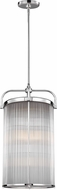 Feiss F3178-4CH Paulson Contemporary Chrome Foyer Lighting Fixture
