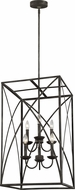 Feiss F3197-6IO Greenbrier Iron Oxide Foyer Light Fixture