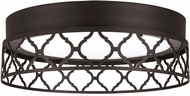 Feiss FM501ORB-LED Amani Contemporary Oil Rubbed Bronze LED Ceiling Lighting Fixture