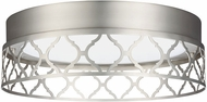 Feiss FM501SN-LED Amani Modern Satin Nickel LED Ceiling Light Fixture