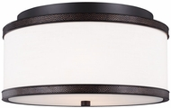 Feiss FM502ORB Marteau Oil Rubbed Bronze Flush Lighting