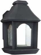 Feiss OL11500TXB-LED Ellerbee Textured Black LED Outdoor Wall Sconce