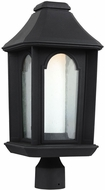 Feiss OL11507TXB-LED Ellerbee Textured Black LED Outdoor Post Lighting