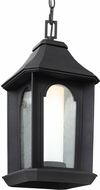 Feiss OL11509TXB-LED Ellerbee Textured Black LED Exterior Hanging Light