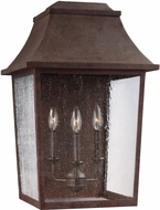 Feiss OL11903PCR Estes Old World Patina Copper Exterior Wall Light Sconce