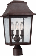 Feiss OL11909PCR Estes Old World Patina Copper Exterior Post Lamp