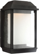 Feiss OL12801TXB-LED McHenry Textured Black LED Exterior Lighting Sconce