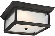 Feiss OL12813TXB-LED McHenry Textured Black LED Exterior Flush Mount Lighting