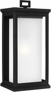 Feiss OL12902TXB Roscoe Modern Textured Black Outdoor 8.5  Sconce Lighting