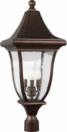 Feiss OL13107PTBZ Oakmont Patina Bronze Outdoor Post Lighting
