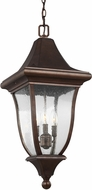 Feiss OL13109PTBZ Oakmont Patina Bronze Exterior Pendant Light Fixture