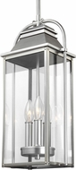Feiss OL13209PBS Wellsworth Painted Brushed Steel Exterior Hanging Pendant Lighting